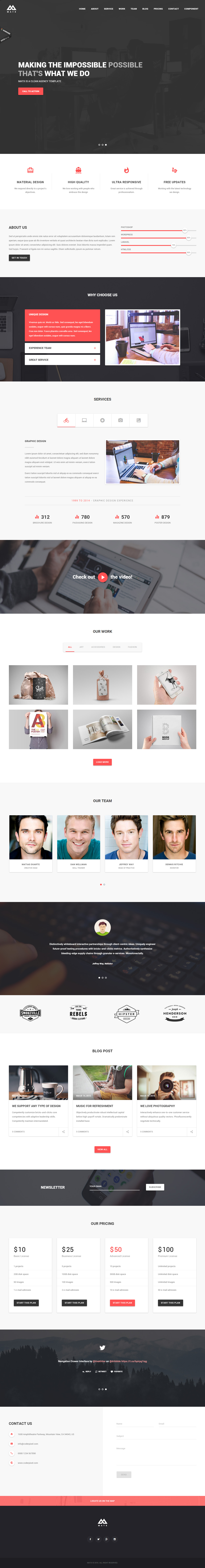 35+ Best Bootstrap Templates 2017 - Responsive Miracle