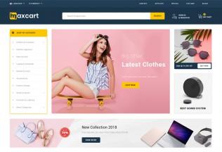 Maxcart – Premium Responsive Multipurpose OpenCart 3 Theme