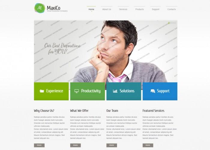MaxiCo – Premium Responsive Consulting HTML5 Template