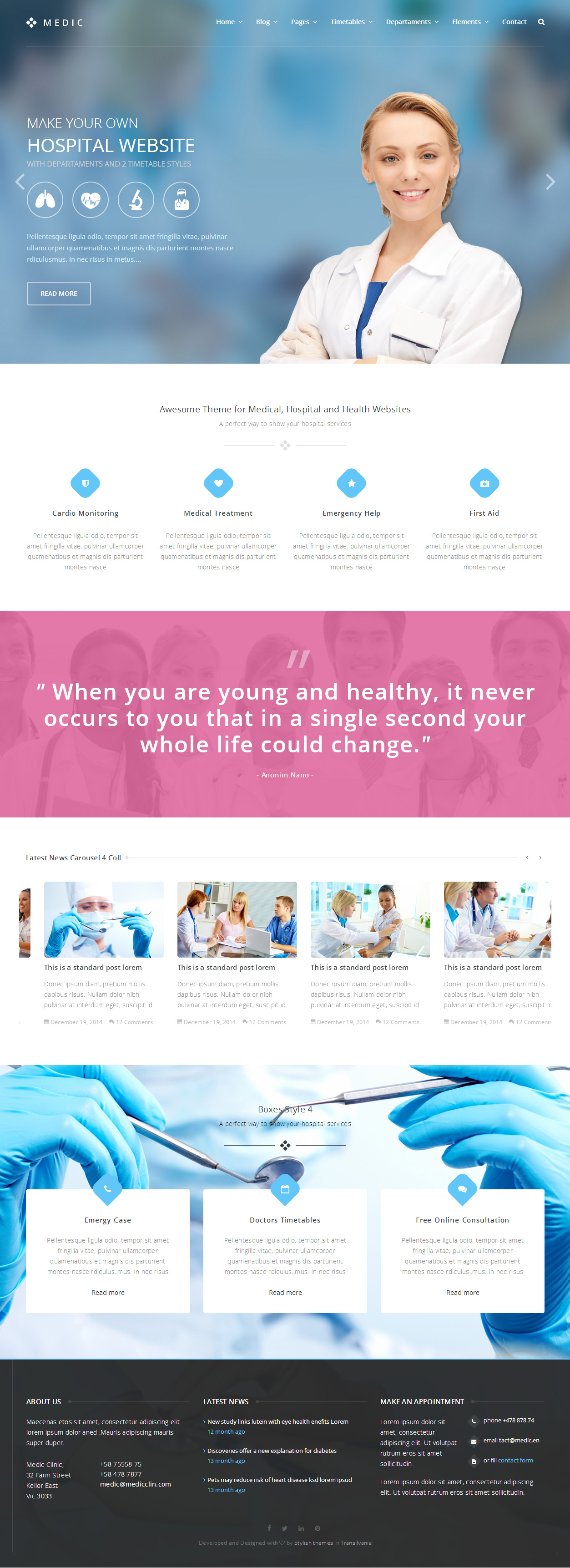 120 best responsive bootstrap html5 templates 2014 responsive miracle in this pack of 57 html you will find 2 styles of timetables doctors page doctor profile page departaments pages and all you need to make a perfect maxwellsz