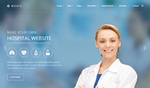Medic Premium Responsive Medicall Html5 Theme