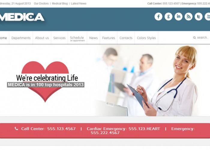Medica – Joomla Premium Responsive Template