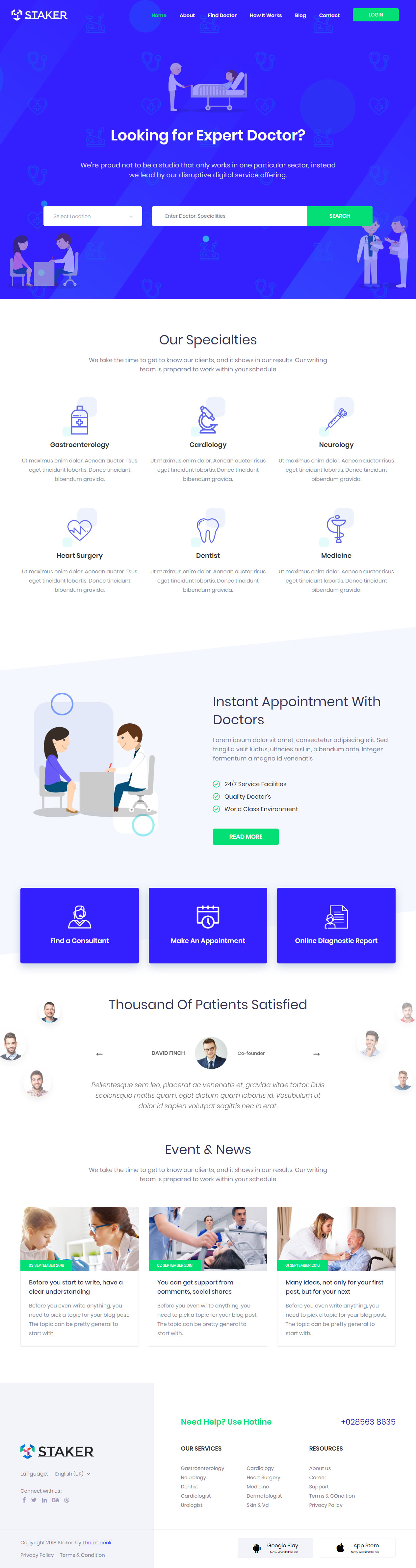 25+ Best Responsive Medical Healthcare HTML5 Templates 2019