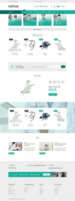 Best Responsive OpenCart Medical Store Templates 2015