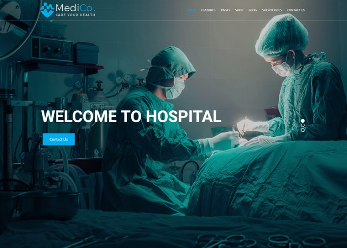 MediCo.- Premium Responsive Hospital and Doctor Clinic HTML5 Template