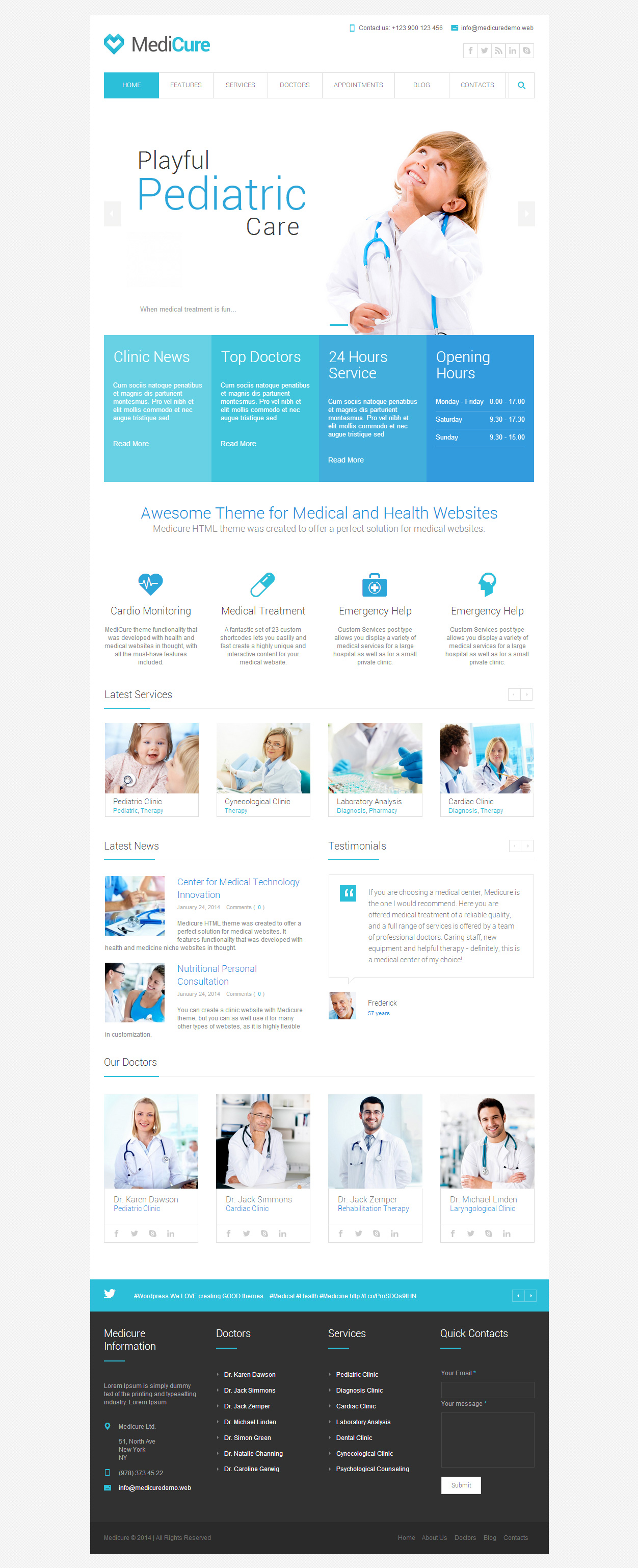 Medicure Medical Healthcare Html5 Templates