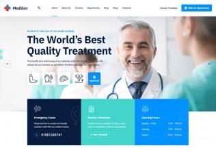Medikon – Premium Responsive Health & Medical WordPress Theme
