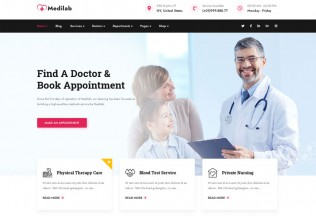 Medilab – Premium Responsive Health & Medical WordPress Theme
