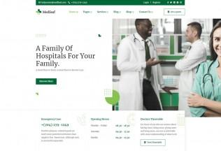 Medileaf – Premium Responsive Health & Medical HTML5 Template