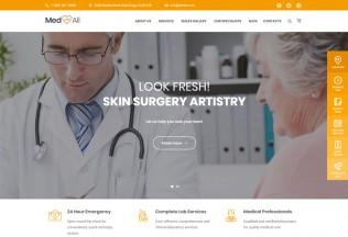 Medin – Premium Responsive Medical Center WordPress Theme