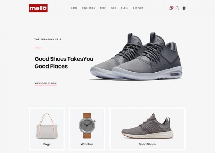 Mella – Premium Responsive Minimalist Prestashop Theme