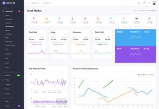 Mentor – Premium Responsive Bootstrap 4 Dashboard HTML5 Template