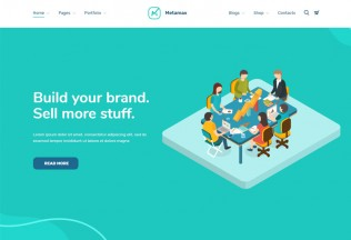 MetaMax – Premium Responsive SEO and Marketing WordPress Theme