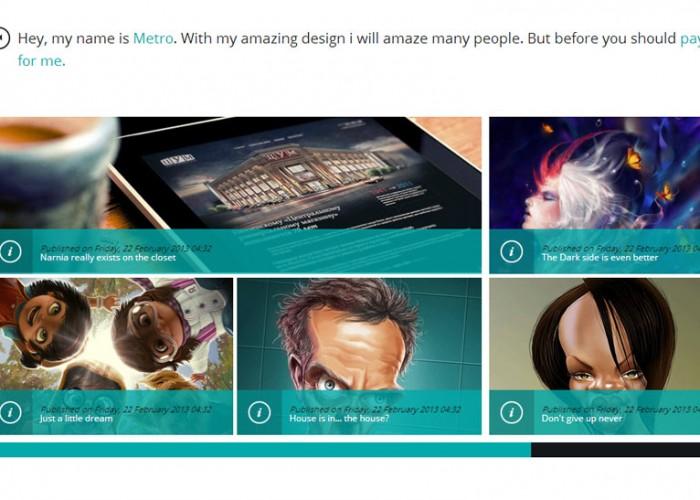 Metro Creative – Joomla Premium Responsive Theme