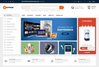 Metros – Premium Responsive Electronics MegaShop Prestahop Theme