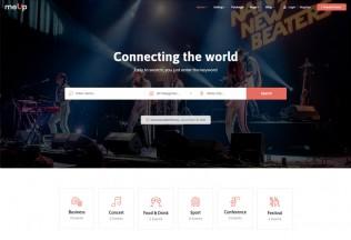 Meup – Premium Responsive Marketplace Events WordPress Theme