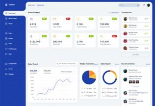Midone – Premium Responsive jQuery Admin Dashboard HTML5 Template