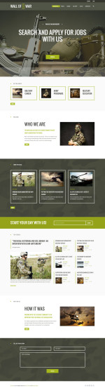 Best Responsive WordPress Army and Military Themes and Templates in 2015