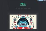 Milo – Premium Responsive Blogging Tumblr Theme