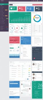 30+ Best Responsive HTML5 Templates with Flat Design in 2015