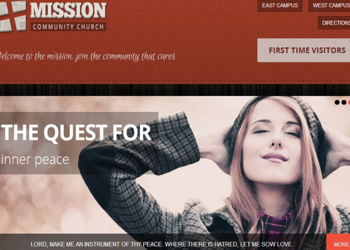 Mission – Premium Responsive WordPress Theme for Churches