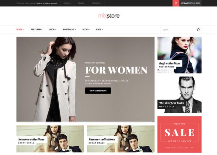 MixStore – Premium Responsive MultiShop WooCommerce WordPress Theme