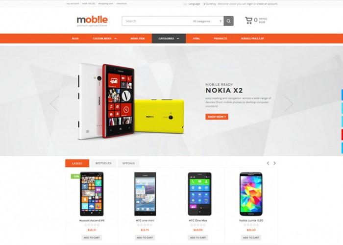 Mobile – Premium Responsive Opencart Theme
