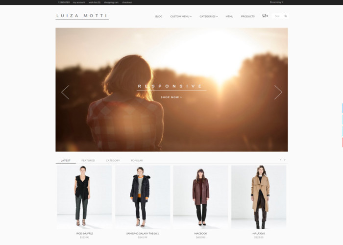 Moda – Premium Responsive Opencart Theme