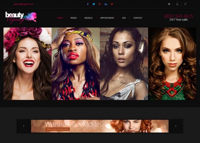Models Agency – Premium Responsive Models Portfolio HTML5 Template
