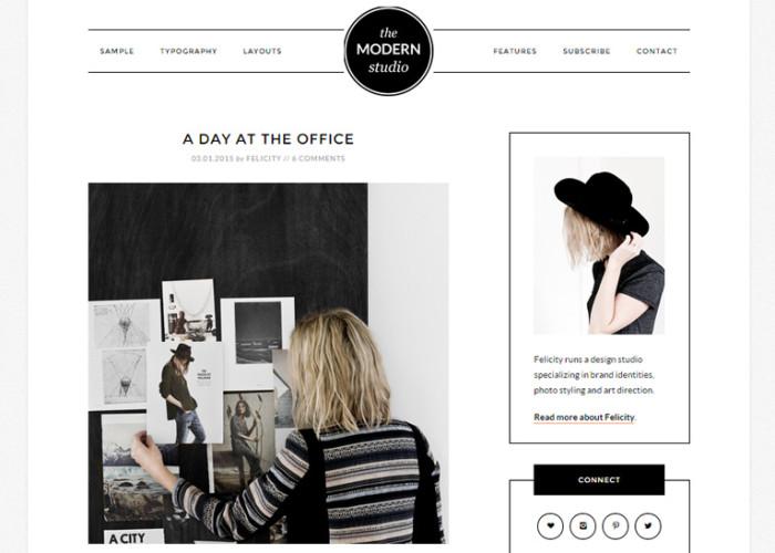 Modern Studio Pro – Premium Responsive WordPress Theme