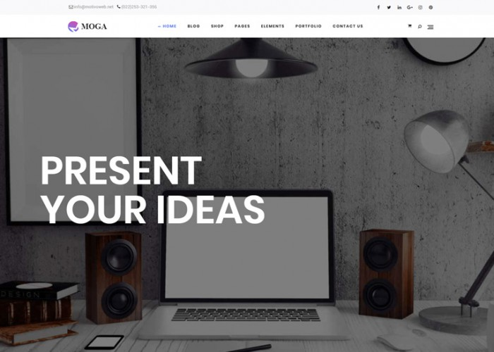 Moga – Premium Responsive Creative Agency WordPress Theme