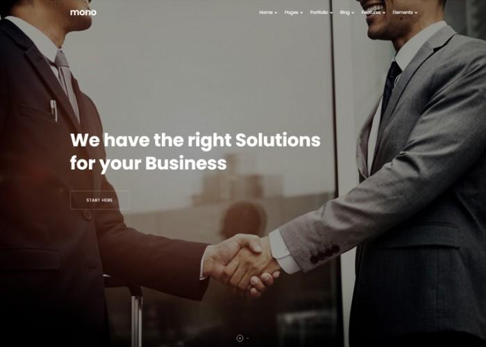 Mono – Premium Responsive MultiPurpose Drupal 9 Theme