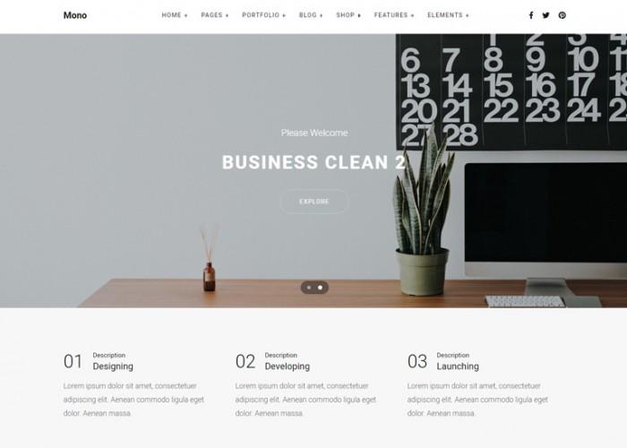 Mono – Premium Responsive Creative MultiPurpose HTML5 Template