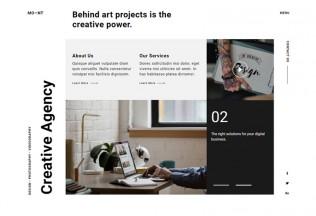Mont – Premium Responsive Creative Agency Portfolio Muse Template