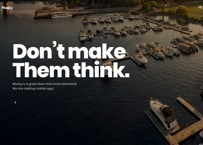 Mosby – Premium Responsive Creative Portfolio WordPress Theme