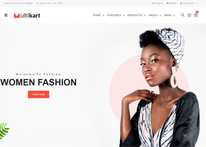 Multikart – Premium Responsive Angular 9 eCommerce HTML5 Template