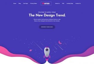 Munza – Premium Responsive MultiPurpose Isometric WordPress Theme