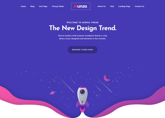 Munza – Premium Responsive MultiPurpose Isometric WordPress Theme