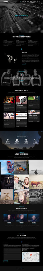 5+ Best Responsive Music and Band WordPress Themes 2014