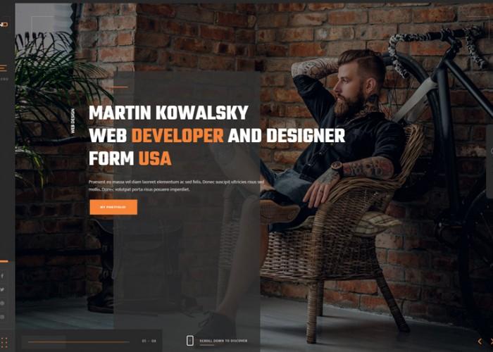 Nastik – Premium Responsive Portfolio WordPress Theme