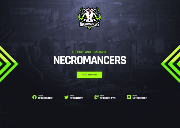 Necromancers – Premium Responsive eSports & Gaming WordPress Theme
