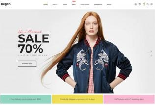Negan – Premium Responsive Minimal eCommerce HTML5 Template