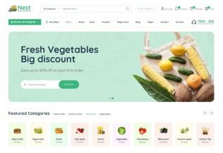 Nest – Premium Responsive Multipurpose eCommerce HTML5 Template