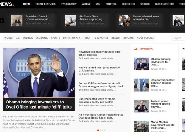 News – Premium Responsive Magazine/News WordPress Theme