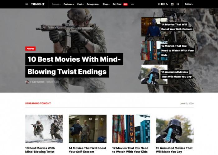 Newsblock – Premium Responsive Modern Magazine WordPress Theme