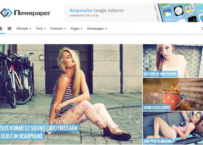 Newspaper – Premium Responsive WordPress Theme