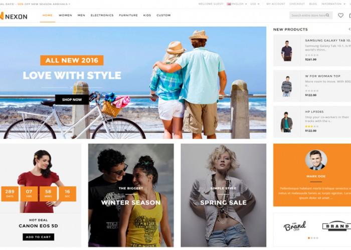 Nexon – Premium Responsive OpenCart Theme