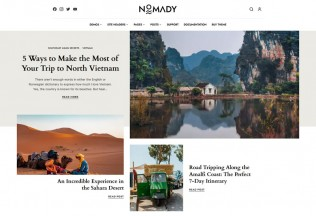 Nomady – Premium Responsive Magazine WordPress Theme