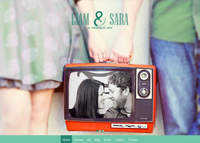 Noo Wedding – Premium Responsive Wedding Joomla Template