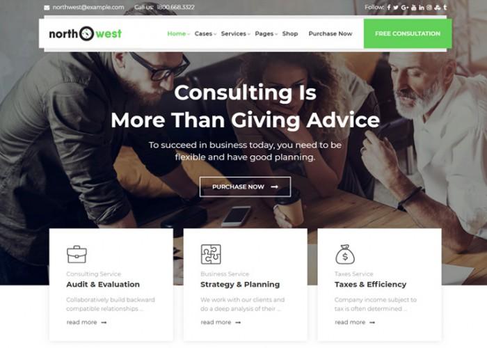 Northwest – Premium Responsive Consulting WordPress Theme